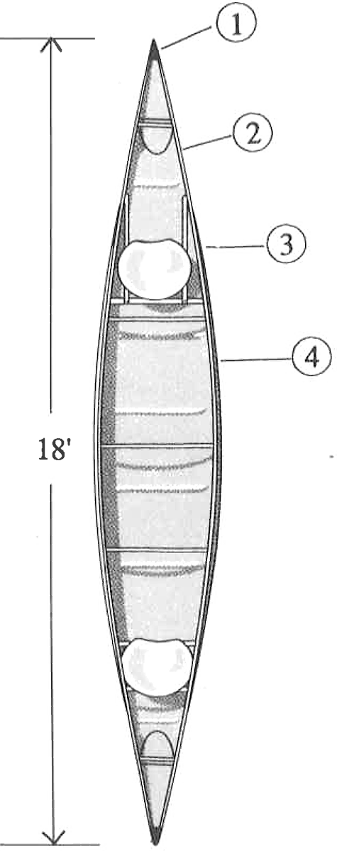 Wenonah Canoe Sundowner 18